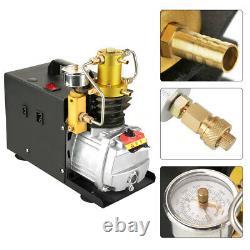 Pompe À Compresseur D'air 40mpa Pcp Électrique 4500psi Séparateur D'égout Haute Pression Uk