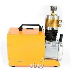 Pompe À Compresseur D'air Électrique 30mpa Pcp 4500psi Haute Pression 1800w Yong Heng