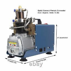 Pompe À Compresseur D'air Pcp Haute Pression 30mpa/4500psi Compression Secondaire 1800w