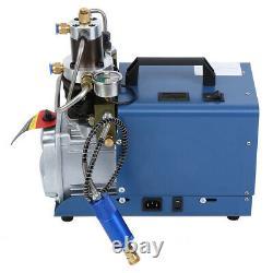 Pompe À Compresseur D'air Ridgeyard Pcp Système Électrique Haute Pression 0-30mpa 1.8kw Uk