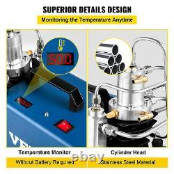 Pompe À Compresseur D'air Vevor 30mpa 1800w Airsoft Paintball Airgun Haute Pression