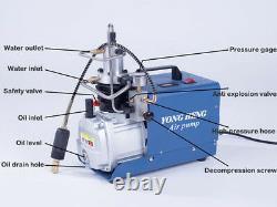 Pompe À Compresseur Électrique Haute Pression 30mpa Cp Pompe À Air Électrique 220v T