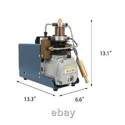 Pompe À Compresseur Électrique Haute Pression 30mpa Pompe À Air Pcp 220v 1.8kw 4500 Psi