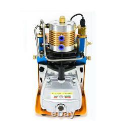 Pompe À Compresseur Électrique Haute Pression 30mpa Pompe À Air Pcp 220v Auto Arrêter La Plongée
