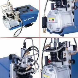 Pompe De Compresseur D'air De 30mpa 110v Électrique 4500psi Système Haute Pression Premium