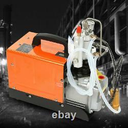 Pompe De Compresseur Électrique 30mpa Pcp 4500psi High Pressure Rifle 220v Uk Plug