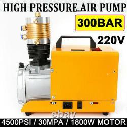 Pompe De Compresseur Électrique À Air De 30mpa Pcp 4500psi Rifle Haute Pression 300bar Rapide