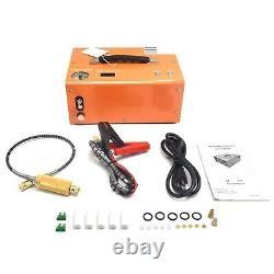 Portable 30mpa 4500psi Pompe À Air Haute Pression Scuba Pcp Compresseur Auto-stop Uk