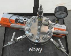 Réacteur Hydrothermal À Autoclave Haute Pression 500ml 380 22mpa Personnalisable 6