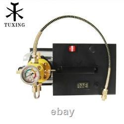 Tuxing 4500psi 300bar Pcc Compresseur D'air Pompe Électrique Haute Pression Plongée 30mpa