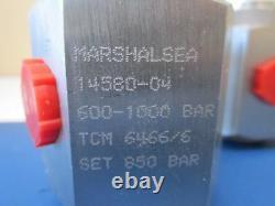 Vanne De Surpression Marshalsea Haute Pression Réglable 600-1200 Bar 60-120 Mpa 14580-0