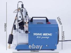 Yong Heng 30mpa 4500psi Compresseur D'air Haute Pression Cp Airgun Pompe À Air De Plongée