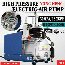 Yong Heng 30mpa 4500psi Compresseur D'air Haute Pression Pcp Airgun Pompe À Air Comprimé