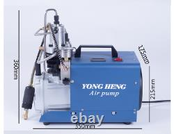 Yong Heng 30mpa 4500psi Compresseur De Pompe À Air Haute Pression Cp Airgun Scuba 110v
